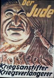 Nazi Anti-Jewish poster