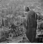 Dresden after night of 13-14 USAAF and RAF bombing.