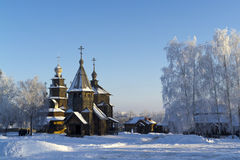Wooden Church, Suzdal, Russia