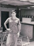 2nd Lt Robert Townsend, USAF,  Khorat RTAFB, Thailand, 1970