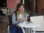 Patrice in Cafe