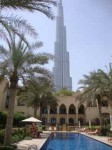 Where I write, the view from...Burj Khalif