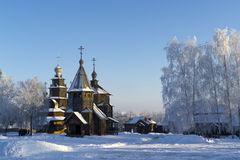 Wooden Church, Suzdal, Russia