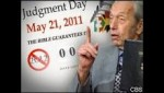 In May 2011, Harold Camping became world (and internet) famous for predicting that the world would end on May 21 (2011).